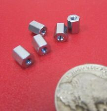 5 pcs Ceramic Insulated Standoff NL523W02-005 Insulator Threaded Porcelain 5//16