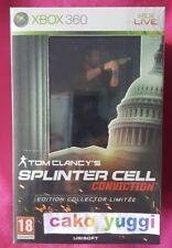 SPLINTER CELL CONVICTION XBOX 360 NEUF SOUS BLISTER VERSION 100% FRANCAISE