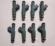 Flow Tested 24LB EV6 Upgrade 4 Nozzle Genuine Bosch Fuel Injectors Set of 8