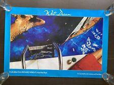 "RICHARD WRIGHT (Pink Floyd) - Original Promo Poster • UNCENSORED • 24""x36""• 1978"