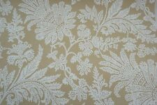 Cole & Son Wallpaper The Damask Collection CASIMIR Biscuit & White Floral