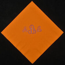 250 personalized monogram beverage napkins wedding napkins baby shower napkins
