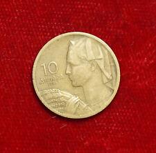 1955 10 Dinara MONETA COIN yugoslavie Yugoslavia Iugoslavia (f7)