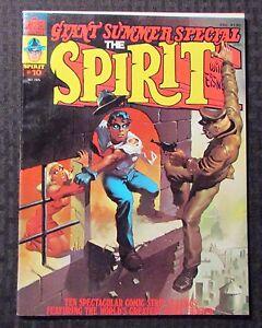 1975 THE SPIRIT Warren Magazine #10 FVF 7.0 Author F. Paul Wilson FPW Collection