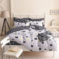 Batman Black Quilt Duvet Doona Cover Set Single/Queen/King Size Pillow case New