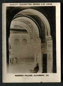 Tobacco Card,Pattreiouex,FOREIGN SCENES,CM1-50,1925,Moorish Palace Alhambra,#26