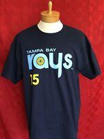 NEW Tampa Bay rays throwback 15 Ray Member MLB Baseball shirt jersey Series