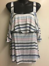Ladies Clothing & Co Layered Size 12 Off the Shoulder Sleeve, Cold Shoulder BNWT