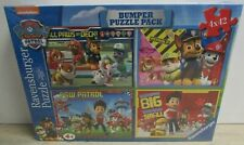 Ravensburger Nickelodeon Paw Patrol Bumper Puzzle Pack 4 x 42 Piece BNIB Sealed