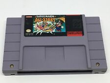 Super Mario All-Stars (Super Nintendo SNES, 1993)  Pins Cleaned & Tested