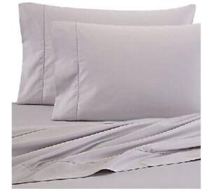 Wamsutta Pima Cotton 525 Thread Count Stone Full Oversized Flat Sheet