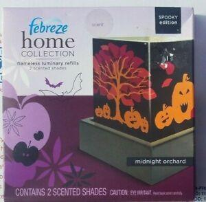 Febreze Flameless Luminary Shades Refills MIDNIGHT ORCHARD SPOOKY Halloween