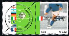 ITALIA FRANCOBOLLI CAMPIONI DEL MONDO ITALIA CALCIO 2002 nuovo** (BI11.717)