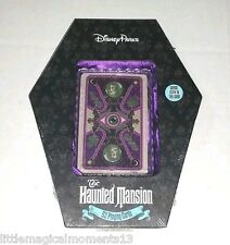 NEW DISNEY PARKS HAUNTED MANSION PLAYING CARDS