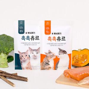 Bbosiraegi ChocChoc Chur (10g x 5ea) Tasty Diet Snack Cat Treats Made in Korea
