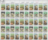 Scott #1827/30...15 Cent...Coral Reefs...Sheet of 50 Stamps XF MNH OG  BV 38.75