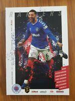 Rangers v Livingston programme 15th February 2020 Premier League