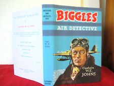 BIGGLES AIR DETECTIVE c1952 HC copy jacket CAPTAIN W.E. JOHNS