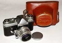 Rare USSR SOVIET camera START + 13 blades Helios-44 lens 2/58 Zeiss Biotar copy
