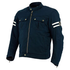 Giacche copertura regolabile blu per motociclista