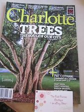 CHARLOTTE MAGAZINE AUGUST 2013 TREES THE SOUL OF OUR CITY BRAND NEW