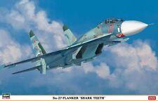 """1/72 Hasegawa Russian Sukhoi Su-27 Flanker """"Shark Teeth"""" Limited Edition"""
