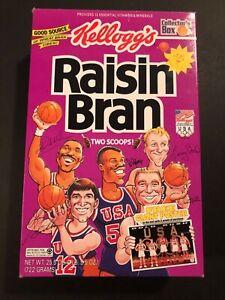 NBA  Raisin Bran Cereal Box 1992 Olympics Team USA - Empty ( No Poster)