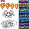 6061 Stainless Steel DIN934 Locking Lock Hex Nuts Metric M3 M4 M5 M6 10PC US Hot