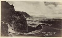 Vintage Old 1940's Landscape Photo of Pali Highway in the Mountains of HAWAII
