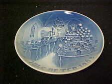 Bing & Grondahl 1968 Annual Christmas Plate 1St Quality