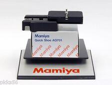 Mamiya RB / RZ / RZ PRO II D / 645 PRO / 645 PRO TL AQ701 QUICK SHOE ADAPTER