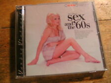 Sex & the 60's [CD Soundtrack] Goldfinger Barbarella Alfie Swinger TWIGGY Bassey