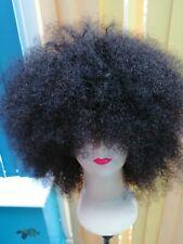 Afro kinky human hair wig