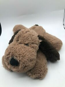 Intelex Scented Microwavable Brown Puppy Dog Plush Soft Stuffed Toy Animal Doll