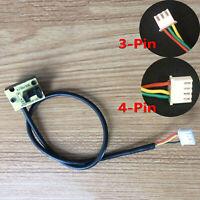 3/4Pin Treadmill Speed Sensor Light Motor Sensor Tachometer Sensor de Velocidad