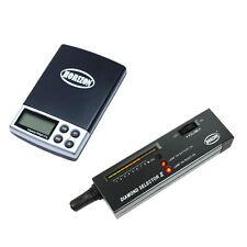Jeweler Diamond Kit: 0.01g Digital Precision Scale + Portable Diamond Tester