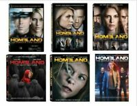 Homeland Claire TV Series Complete Seasons 1-6 DVD Set Collection Episodes Show