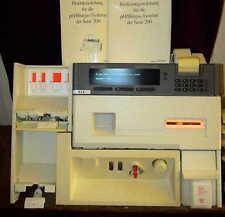 Ciba corning pH gases blood gas sistema encriptada diagnóstico in vitro test p o2 co2