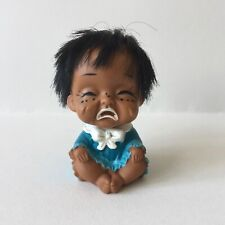 Vintage Collectible Rubber Toy Moody Cutie Doll Crying Baby Made In Japan