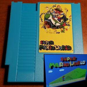 Super Mario World: NES cartridge