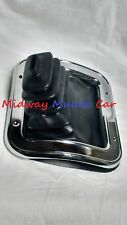 manual trans shifter boot & retainer ring w/o console  68-72 Chevy II Nova