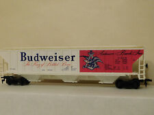 BUDWEISER ** 54' COVERED PULLMAN HOPPER ** OOP ** TYCO HO Scale Train ** mint **