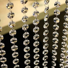 New Garland Diamond Strand Acrylic Crystal Bead Curtains Wedding Decor 10M