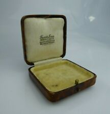 Antique jewellery Box For Ring Brooch Ladies Pocket Watch Gold Silver.