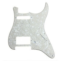 Electric Guitar HS Pickguard Scratch Plate for Fender Strat 3 Ply Aged Pearl