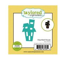 Taylored Expressions Little Bits Die(s) Set ~ HAUNTED HOUSE  Halloween ~TE418
