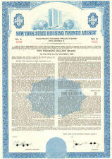 New York State Housing Finance Agency > 1973 housing project bond certificate