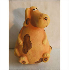 LATEX MOULD MOULDS MOLD.           SITTING CHUBBY DOG