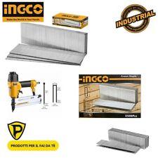 INGCO Ricariche chiodatrice graffatrice GRAFFETTE 25 30 40 CHIODI 20 30 40 50 mm