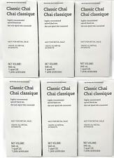 6 PACK STARBUCKS Classic Chai Spiced Black Tea Latte Best Before October 2020